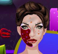 Реальный макияж для Малефисенты