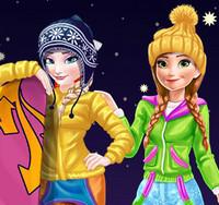 Зимние каникулы с принцессой Эльзой и Анной