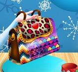 Красивая сумка для принцессы Эльзы