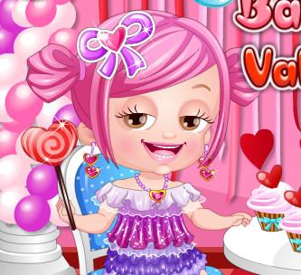 Малышка Хейзел празднует день Святого Валентина