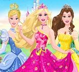 Барби в роли принцессы Диснея