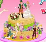 Готовим свадебный торт с феей Динь-Динь
