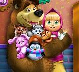 Маша и Медведь на игрушечной фабрике