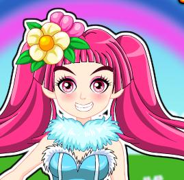 Весенняя  одевалка  для принцесс фей