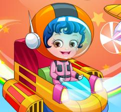 Малышка Хейзел в роли пилота