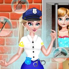 Эльза служит в Полиции Моды