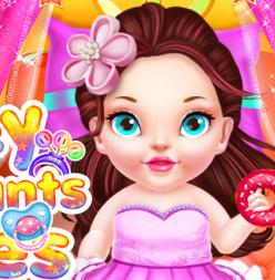 Нянчим потомков принцесс Диснея: крошек Одри и Лонни