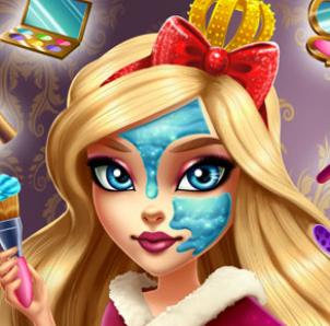 Реальный макияж для будущей королевы Эппл Вайт