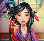 Реальная стрижка для принцессы Мулан