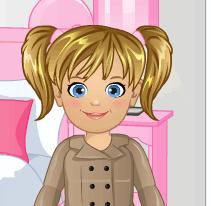 Малышка Эмма в Пони клубе