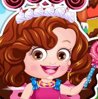 Малышка Хейзел в роли шоколадной феи