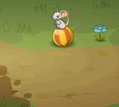 Маленькая мышка в борьбе за сыр