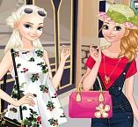 Эльза и Анна делают покупки