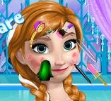 Принцесса Анна заботится о коже