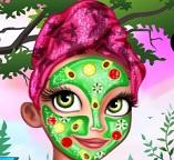 Королевский макияж Рапунцель