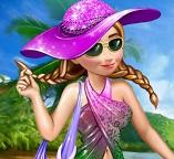 Принцесса Анна отдыхает на пляже