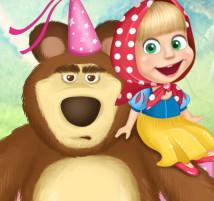 Маша и Медведь зажигают