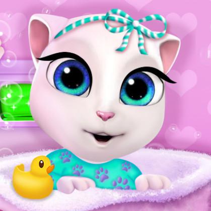 Шикарная ванна для малышки Анжелы