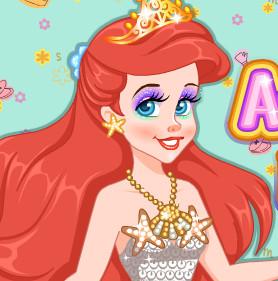 Современный макияж для принцессы Ариэль