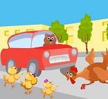 Деткам про уроки безопасности на дорогах