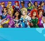 Пазл. Все принцессы Диснея