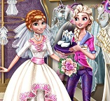 Эльза планирует свадьбу  для Анны