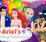Свадебная фото сессия принцессы Ариэль