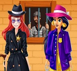 Детективы принцессы Жасмин и Ариэль
