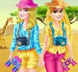 Блондинки Рапунцель и Золушка  отправляются в Сафари