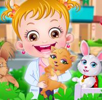 Игры для девочек о доктор для животных