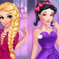 Принцессы Диснея Рапунцель и Белоснежка— охотники за модой