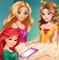 Соперничество принцесс Диснея в инстаграме