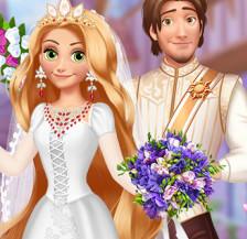 Свадьба Рапунцель в средневековом стиле
