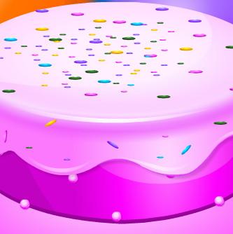 Красивый дизайн торта  для друзей Доры
