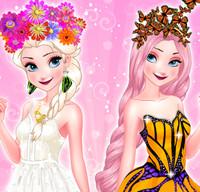 Эльза королева бабочек