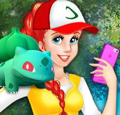Принцесса Ариэль тренер покемонов