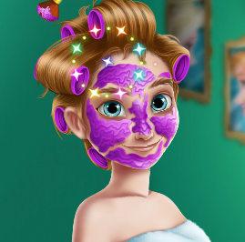 Реальный  макияж для принцессы Анны