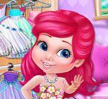 Свадебное платье для  куклы Ариэль