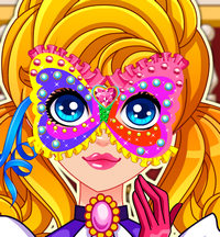 Творчество: маска для принцессы