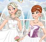 Эльза и Анна. Двойная свадьба сестер
