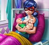 Леди Баг мамочка двух малышей