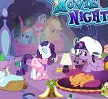 Маленькие  Пони. Ночной просмотр фильмов