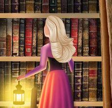 Барби в библиотеке