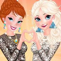Эльза и Анна: ночная вечеринка