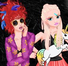 Шоу принцесс Диснея:  фрики против милашек