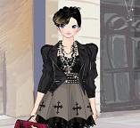 Мода. Великолепный или ужасный черный готический стиль