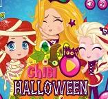 Принцессы Диснея шалят на Хэллоуин
