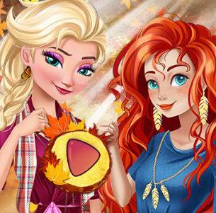 Осенний сезон— стимулятор перемены моды для принцесс