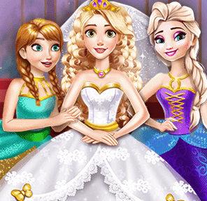 Свадьба золотоволосой принцессы Рапунцель