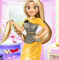 Офисный стиль принцессы Рапунцель